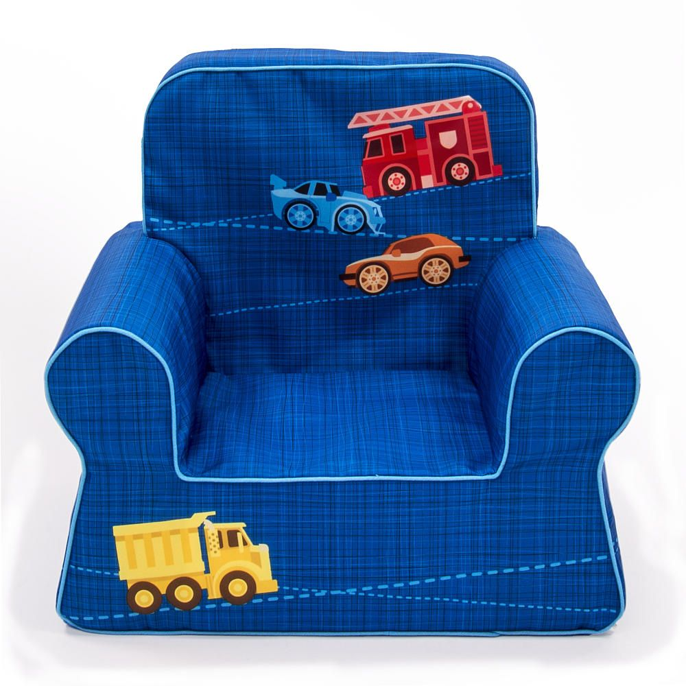 Marshmallow Vehicles Comfy Chair   Blue. Toddler ChairToddler RoomsKids ...