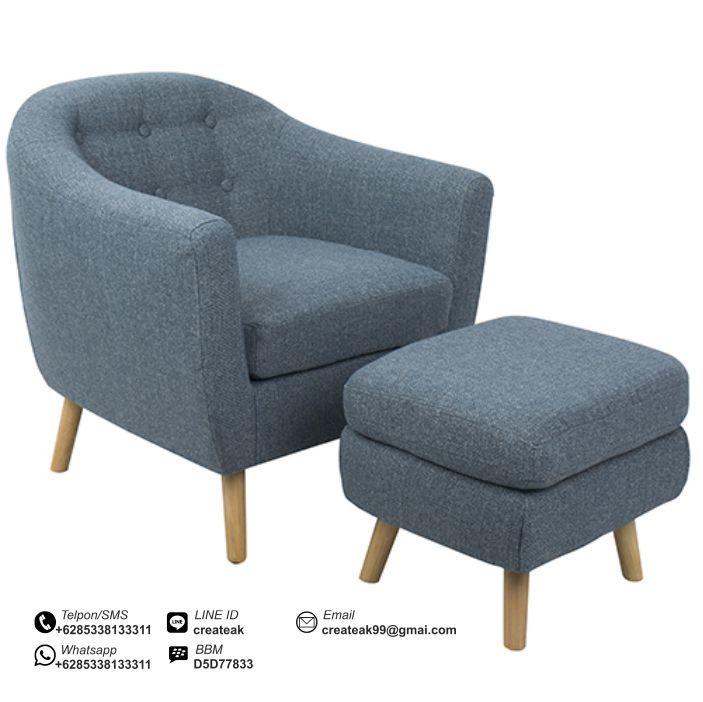 kursi santai sofa murah harga bed malas