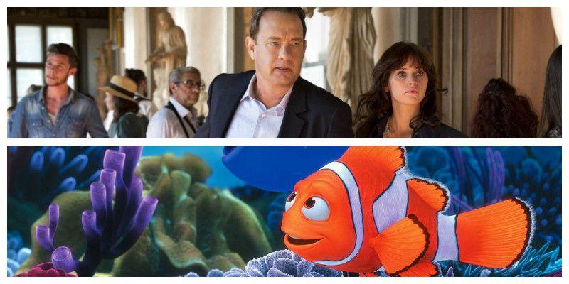 Με «Ψάχνοντας την Ντόρι» και «Inferno», η φετινή πρεμιέρα του Δημοτικού Κινηματογράφου «Απόλλωνα»