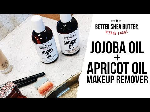 (12) Jojoba Oil + Apricot Oil as a Makeup Remover Great