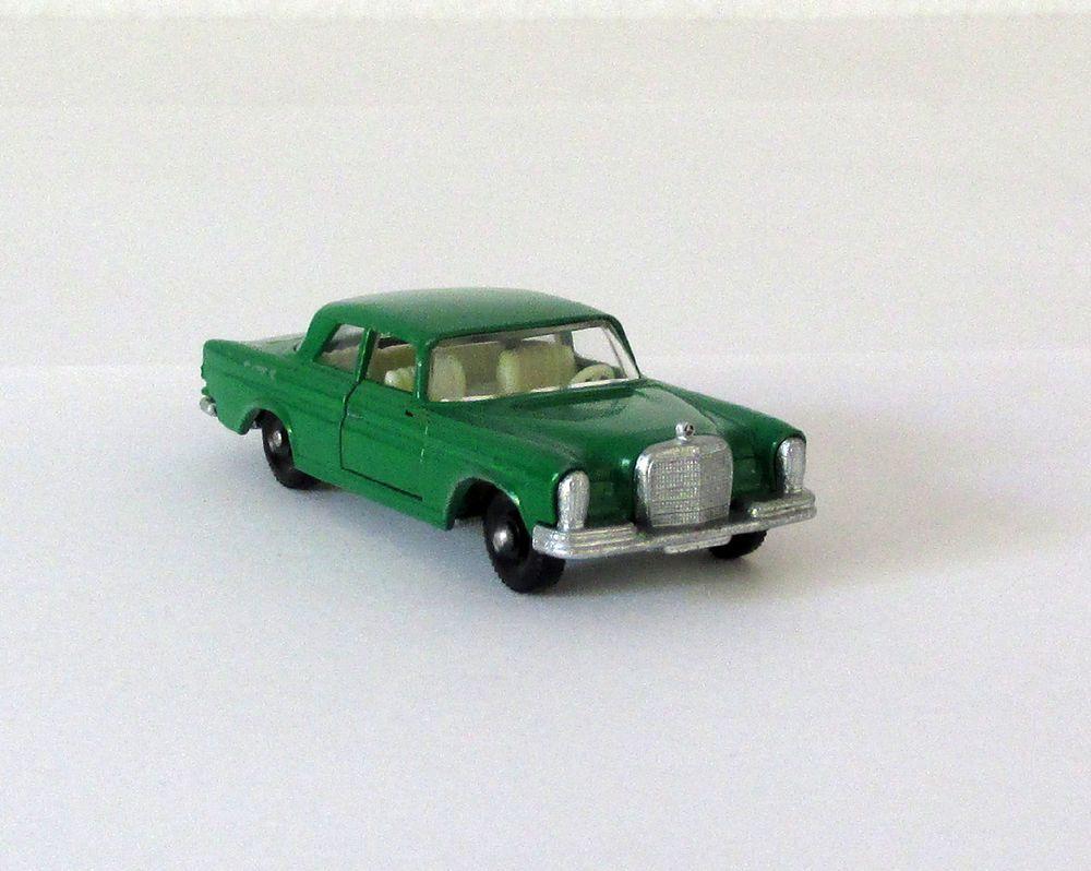 90s car toys  Vintage Lesney Matchbox  Mercedes Benz SE Regular Wheels