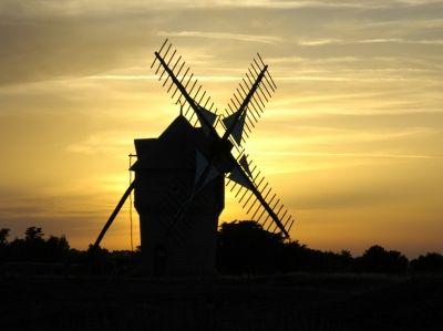 Le Moulin du Diable - Contre jour Guérandais - Votre meilleure photo en contre-jour