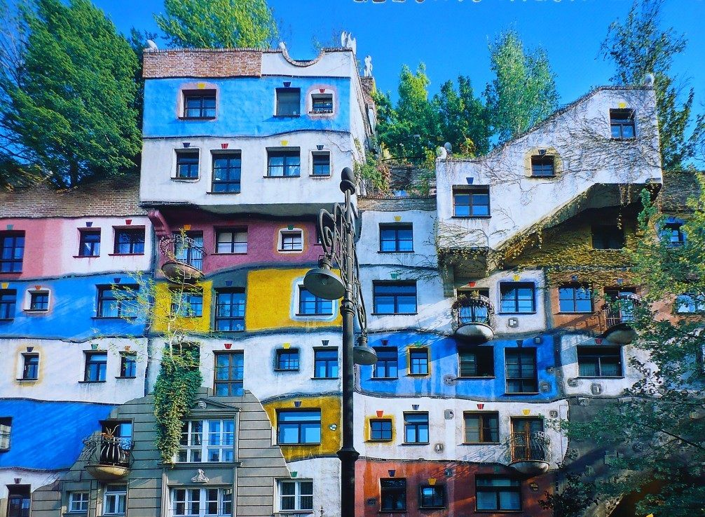 Architecture insolite d couvrez l 39 oeuvre de l 39 autrichien for Architecture hundertwasser