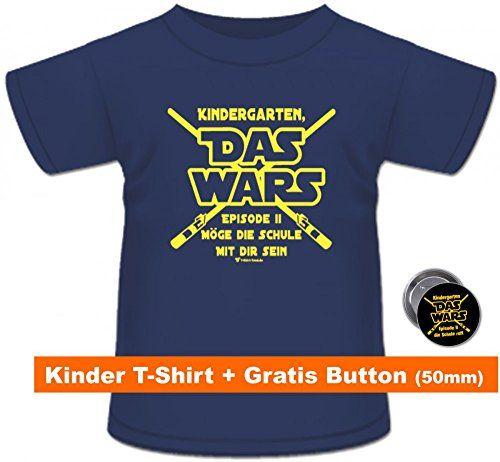 T Shirt Spruch Kindergarten Das Wars Geschenk Schulanfa Https