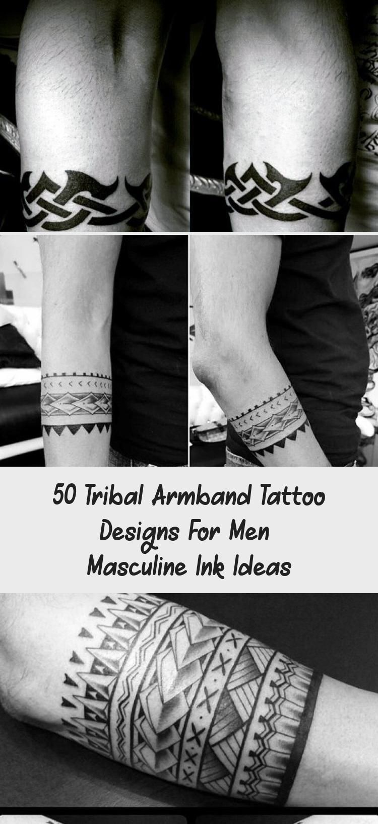 50 Tribal Armband Tattoo Designs For Men Masculine Ink Ideas Tattoos And Body Art In 2020 Tribal Armband Tattoo Arm Band Tattoo Tribal Armband