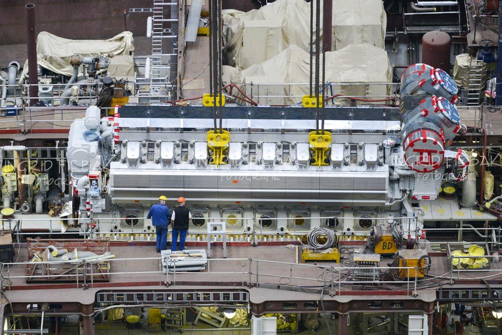 Quantum of the Seas engine | NEW SHIP | Quantum of the ...
