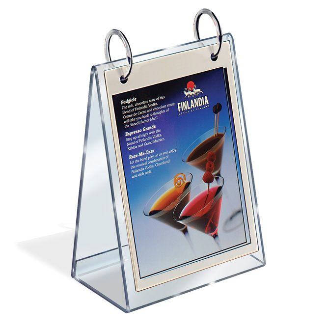 Tabletop Flip Chart A Style 8 1 2 X 11 Displays
