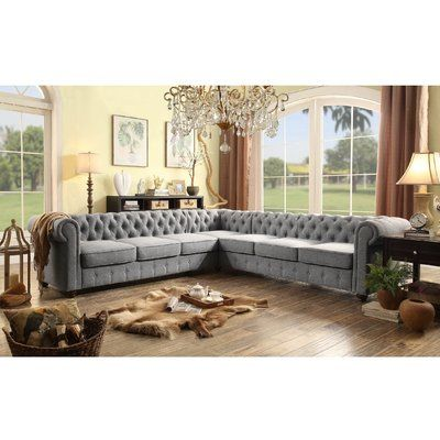 Gowans Symmetrical Sectional   Sectional sofa, Furniture ...