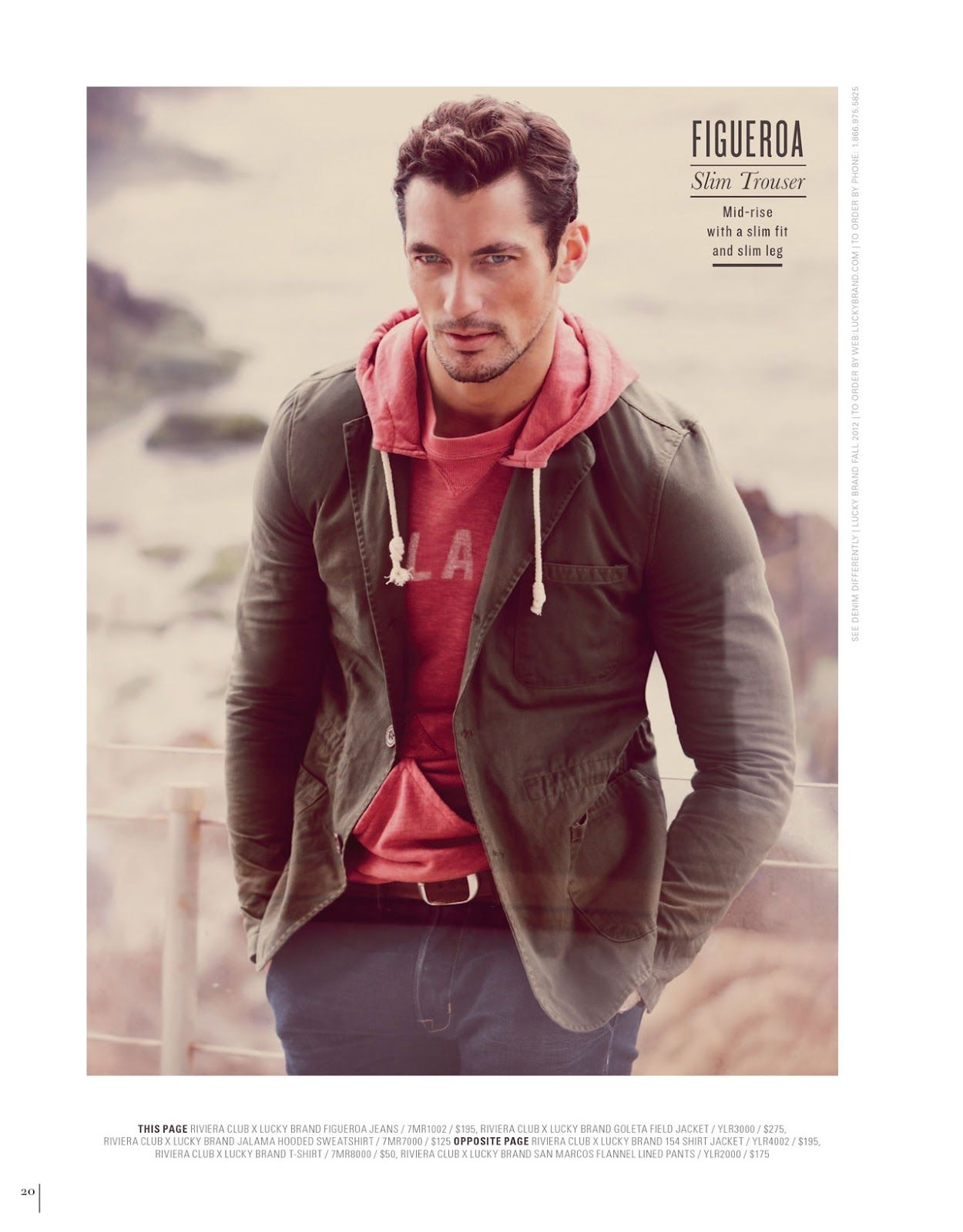 David Gandy -Source-: David Gandy for Lucky Brand F/W 2012 Campaign ...