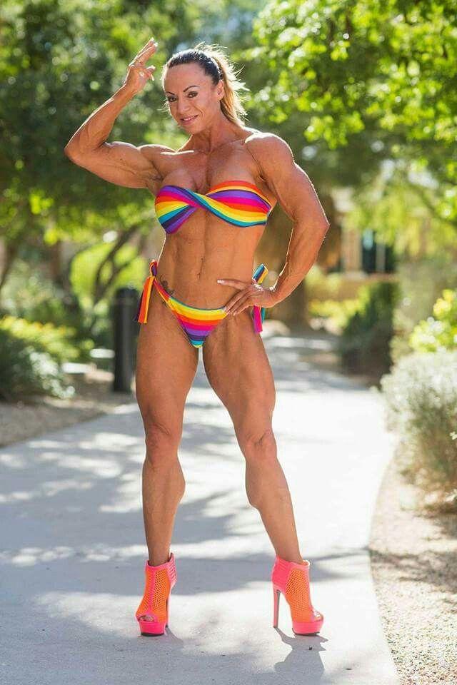 Nathalie Schmidt Female Muscle Beauties Bodybuilding