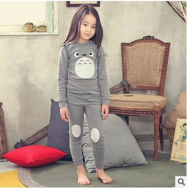13.10$  Watch here - http://alikgn.shopchina.info/go.php?t=32756019360 - winter kids pajamas My Neighbor Totoro suit girls clothing sport sets cotton children christmas boy clothes pajamas kids  #magazineonline