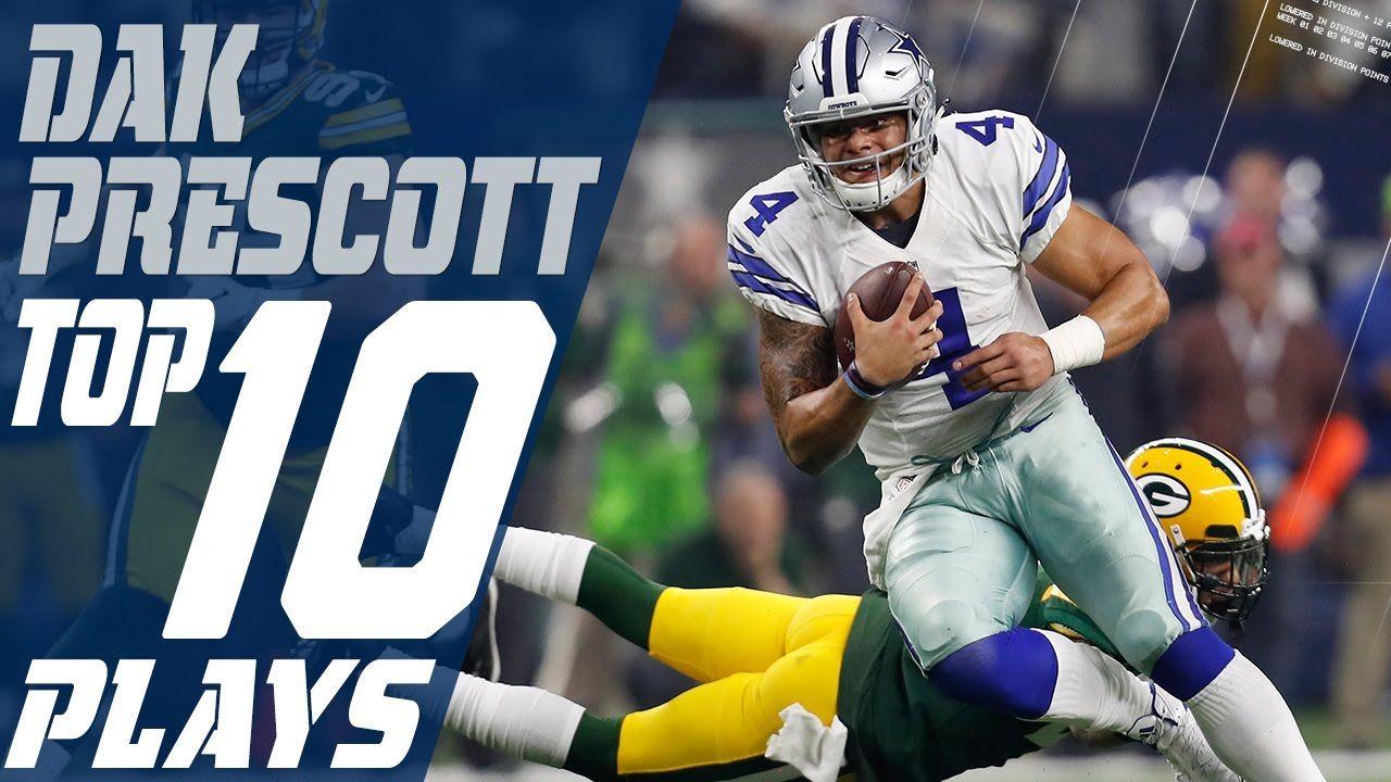Dak Prescott's Top 10 Plays of the 2016 Season Dallas
