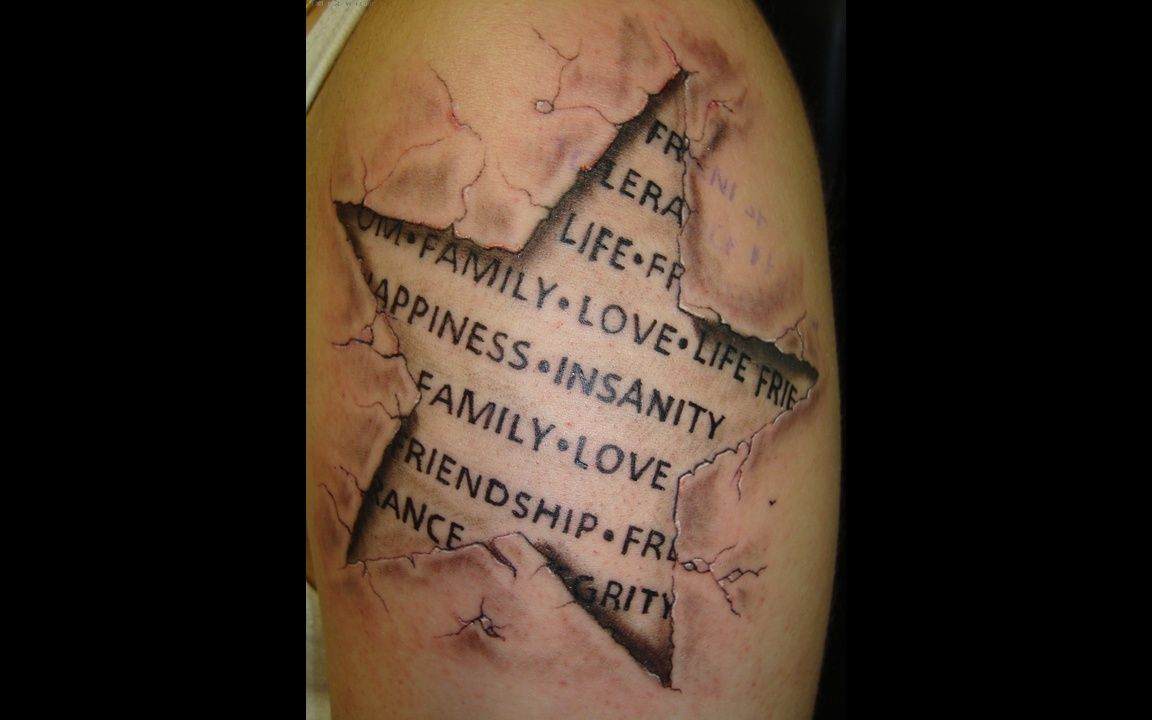 3d tattoo designs - 3d Tattoo Love Family Insanity