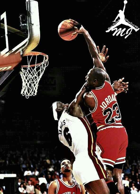 Someone S Photoshop Attempt Actual Dunk Was On Orlando Woolridge In L A Michael Jordan Pictures Michael Jordan Chicago Bulls Jordan Bulls