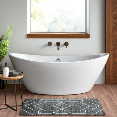 Vanity Art 70 9 X 33 9 Freestanding Soaking Bathtub Modern