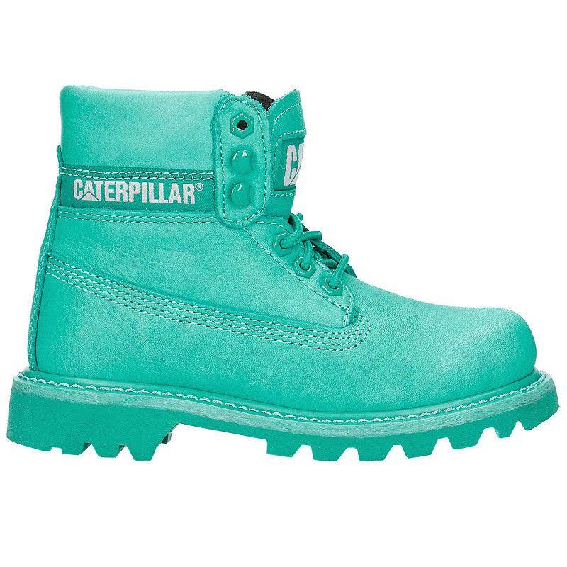 c8a700e9f CAT Caterpillar Colorado Brights Green Women s Boots Leather Winter Shoes  New. Zapatos De InviernoVerde BrillanteBotas De MujeresBotas ...