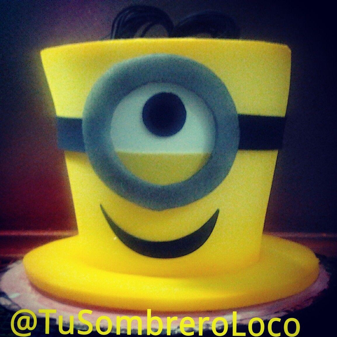 sombrero de minions | MINIONS | Pinterest | Sombreros, Fiestas and ...
