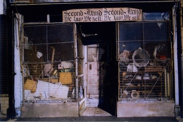 A wonderfully evocative second hand store on Bradford's Manningham Road - Neil Roland