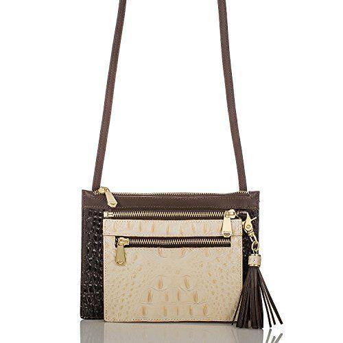 Brahmin Triple Treat Coquette Leather Crossbody Handbag Set