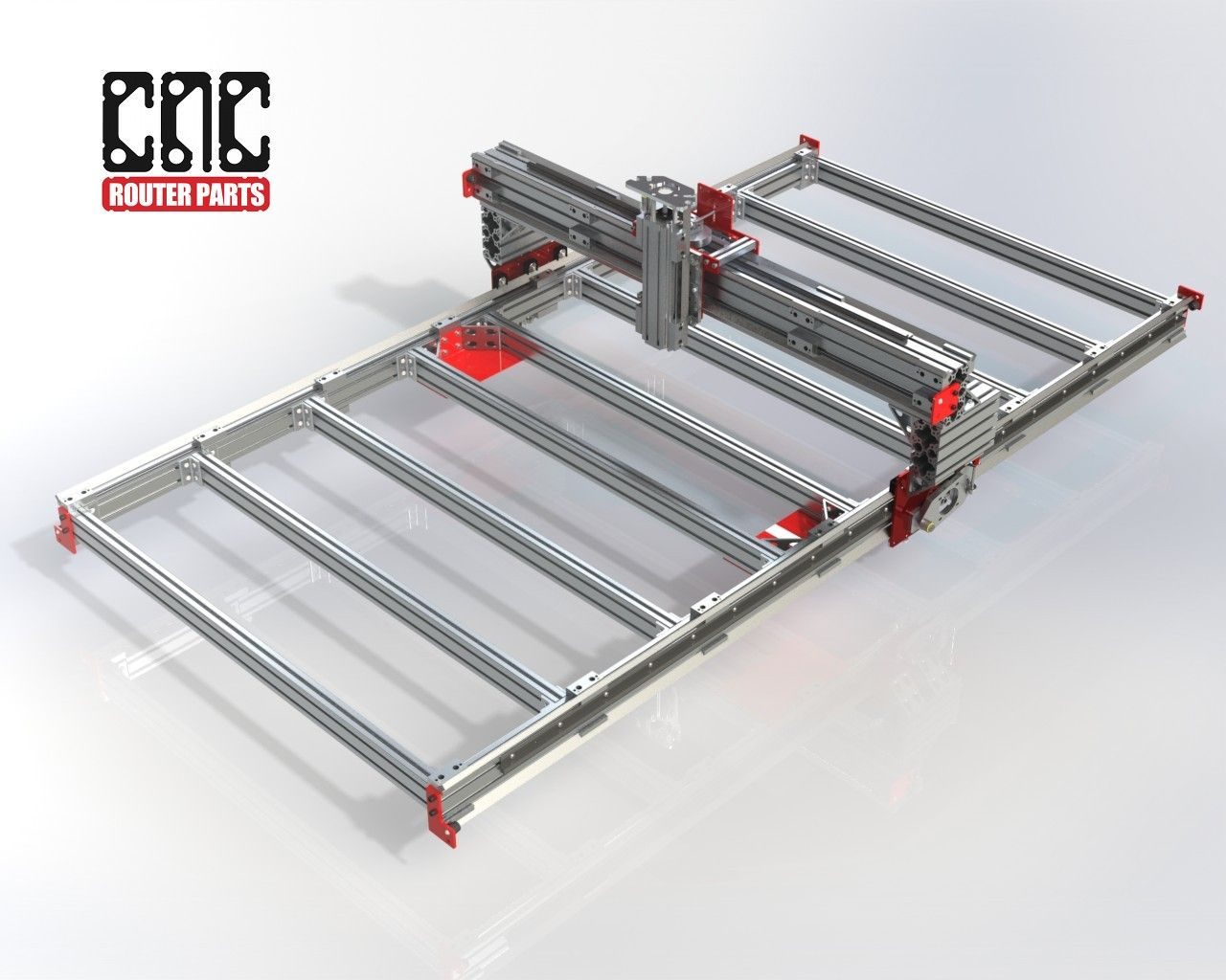 CNC Router Parts PRO4896 an inexpensive version of the