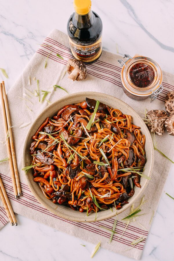 Soy Sauce Braised Wild Mushrooms (With images) | Asian