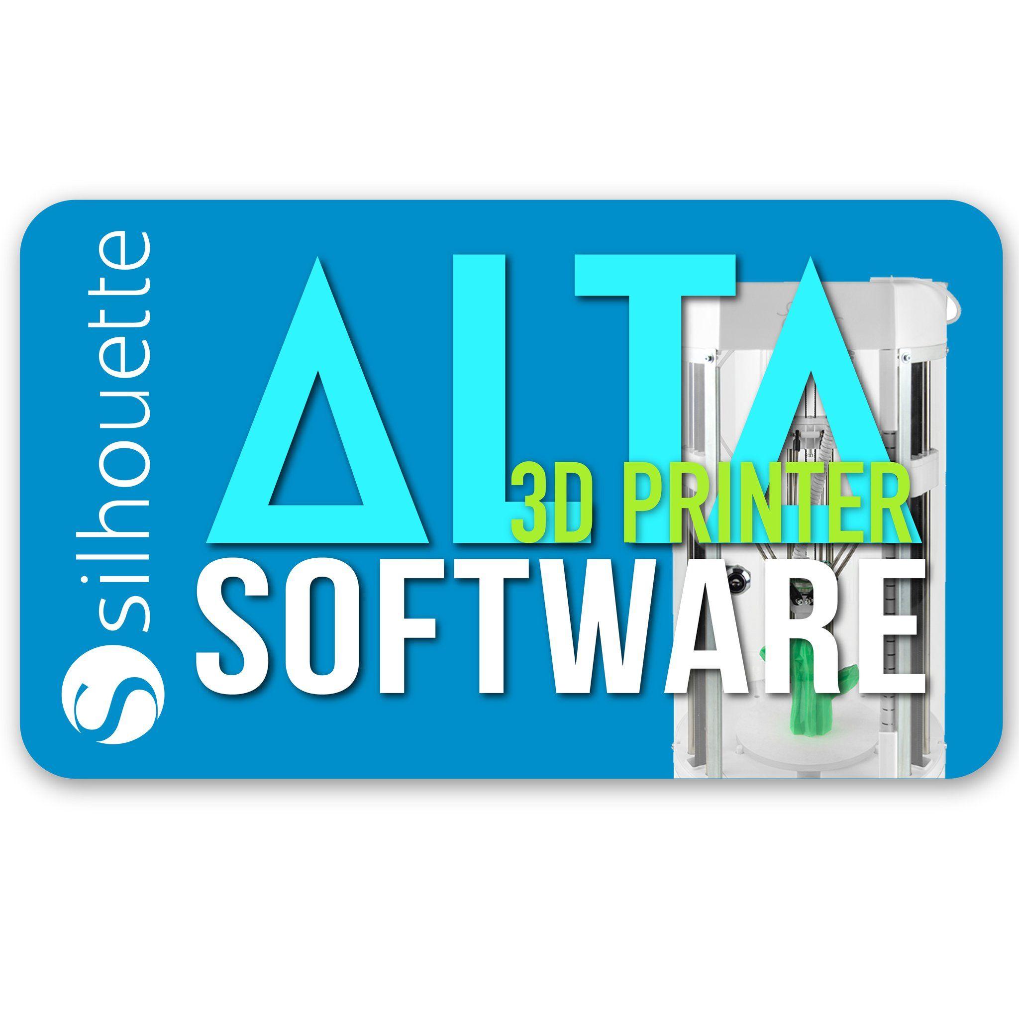 Silhouette Alta 3D Printer Software Latest Version