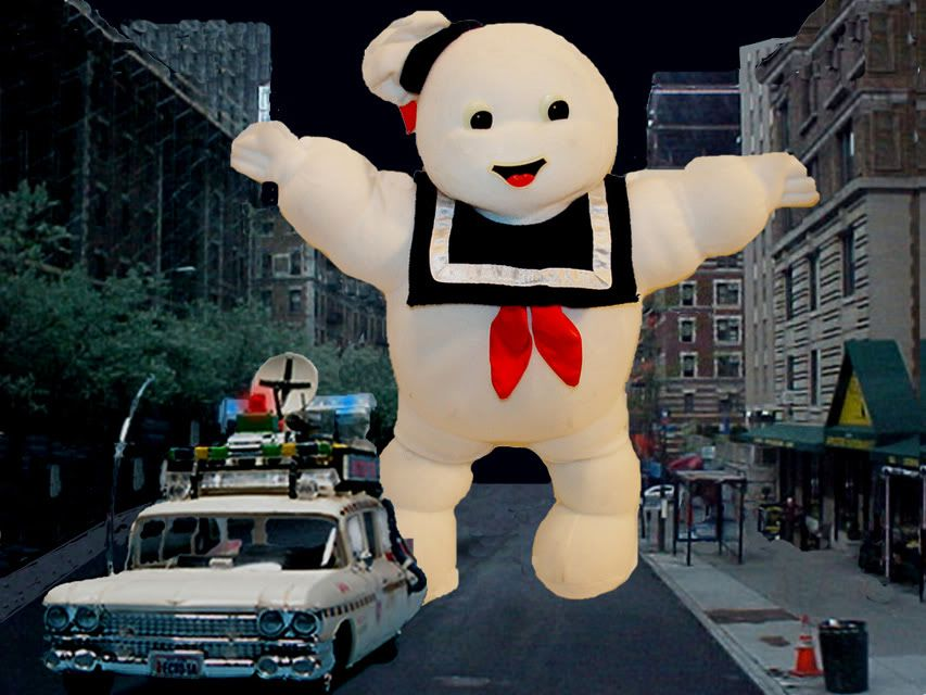 """1984 Kenner 15"""" Ghostbusters Stay Puft Marshmallow Man"""