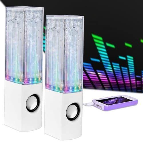 Merkury Innovations Universal Water Dancing Speaker In
