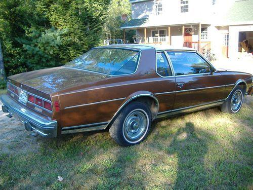 1979 Chevrolet Caprice Classic Landau Coupe 2 Door 5 7l Us 11 000 00 Caprice Classic Chevy Caprice Classic Chevrolet Caprice