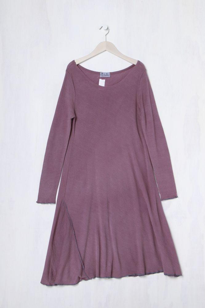 jalfe Tunika Kleid aus Wolle L TOP! mauve in Kleidung