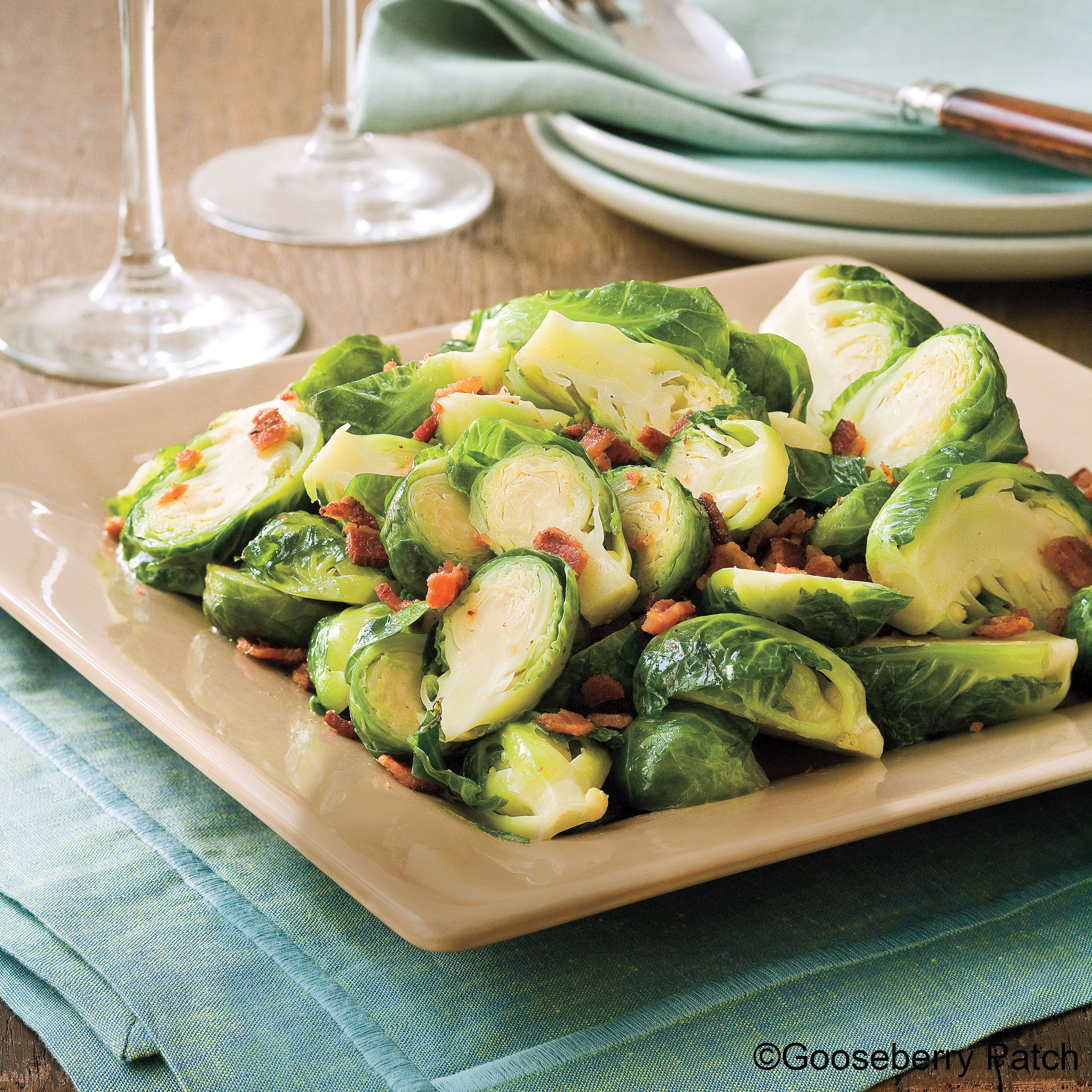 Sprouts Christmas Eve Hours 2020 Gooseberry Patch Recipes: Bacon Brown Sugar Brussels Sprouts from
