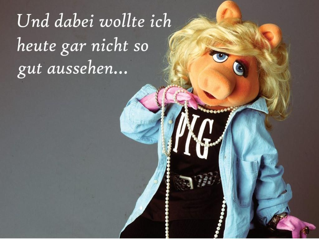 Pin von ภัธ ลี้โภคภิญโญ auf Miss Piggy | Witze lustig