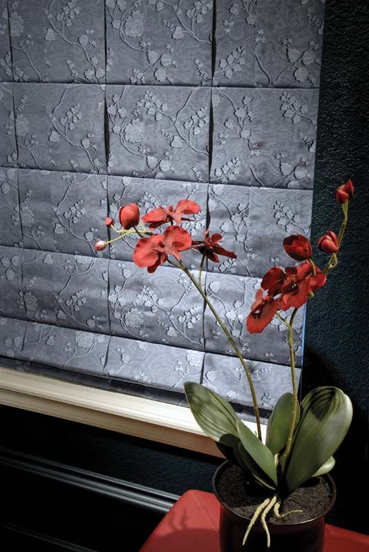Roman shades can be made in so many different fabrics and styles. The possibilities are endless!