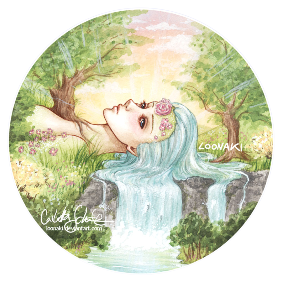 Mother By Loonaki On Deviantart Nature Drawing Drawing Scenery Earth Drawings