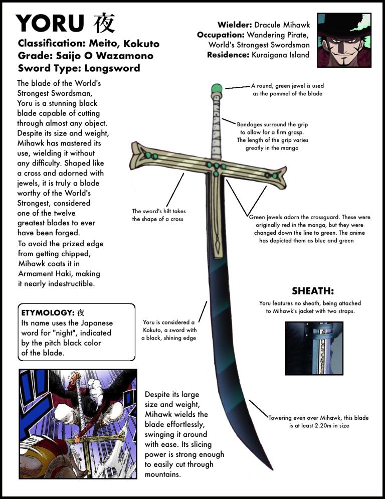 The One Piece Sword Encyclopedia A Complete Collection Of Every Sword In The Series The Library Of Ohara Espada Rpg Espadas Espadas Lendarias