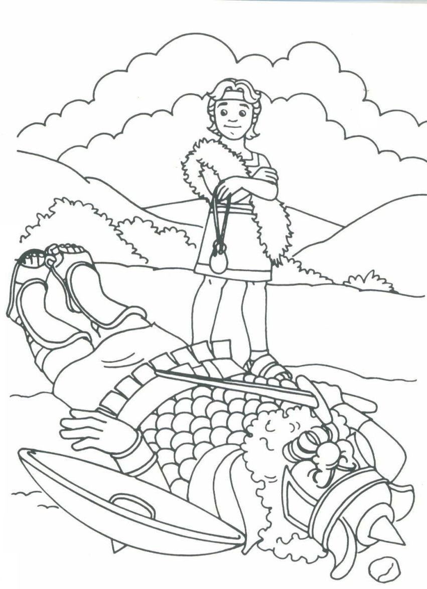 david the king coloring pages - photo#19