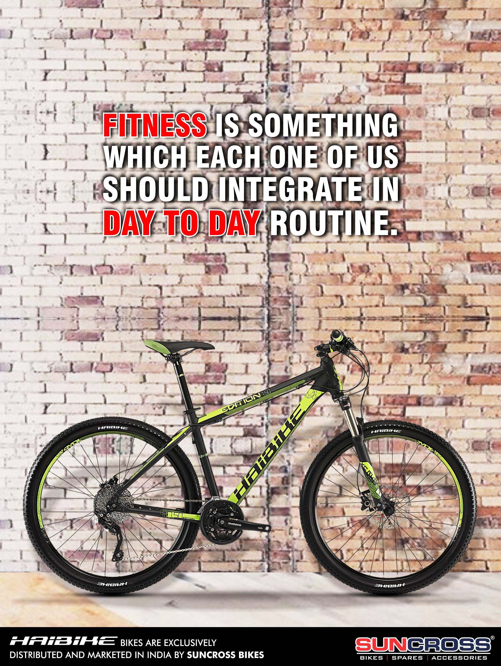 Because Fitness Is An Attitude Fitness Bike Attitude