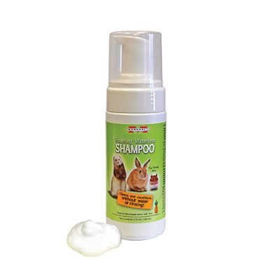 Foaming Waterless Shampoo For Small Animals 10 99 At Pet Valu Waterless Shampoo Shampoo Small Pets