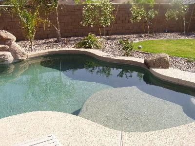 Fiberglass pool with tanning ledge google search for Pool design regrets