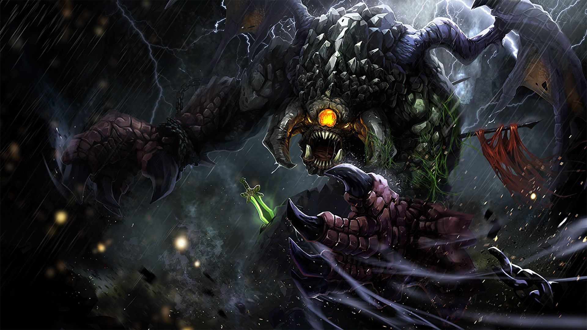 Dota 2 High Resolution Wallpapers 3d Wallpaper Resolutions Greed Mythology Concept Art Conceptual