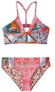 Maaji Girls' Pintastic Party Sugar Bloom Bikini Set (216) - 8151810