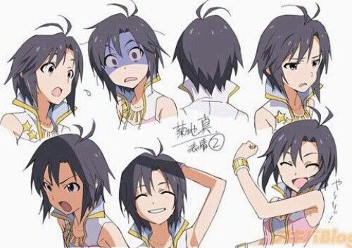 Makoto Anime Character Design Character Design Anime Faces Expressions