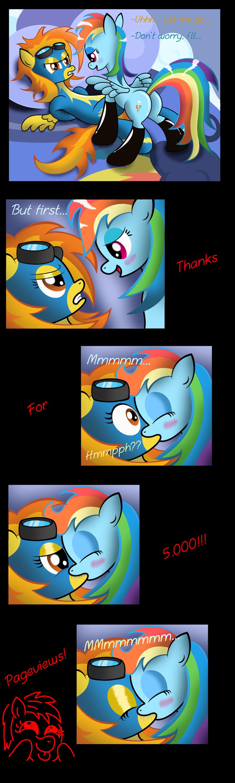 Rainbow dash x spitfire futa mlp by pixelperry