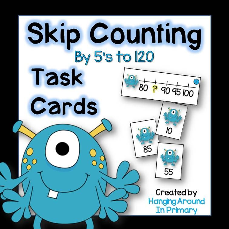 Math Centers - Skip Counting by 5s | Skip counting, 5 s and Worksheets