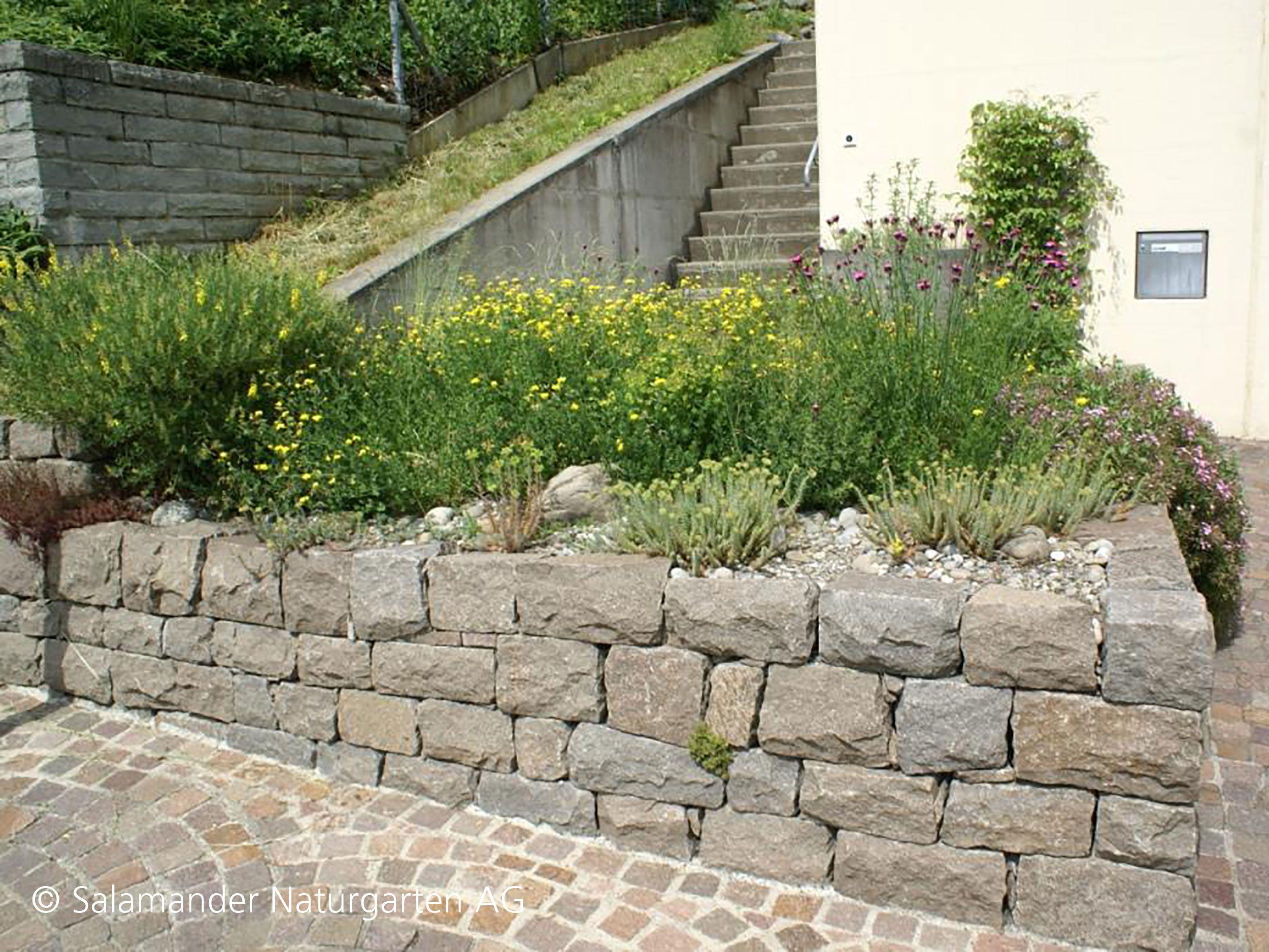 Italienischer Porphyr Lagerverband Fugenklasse Ii Trockenmauer Drystonewall Trockenmauer Vorgarten Naturgarten