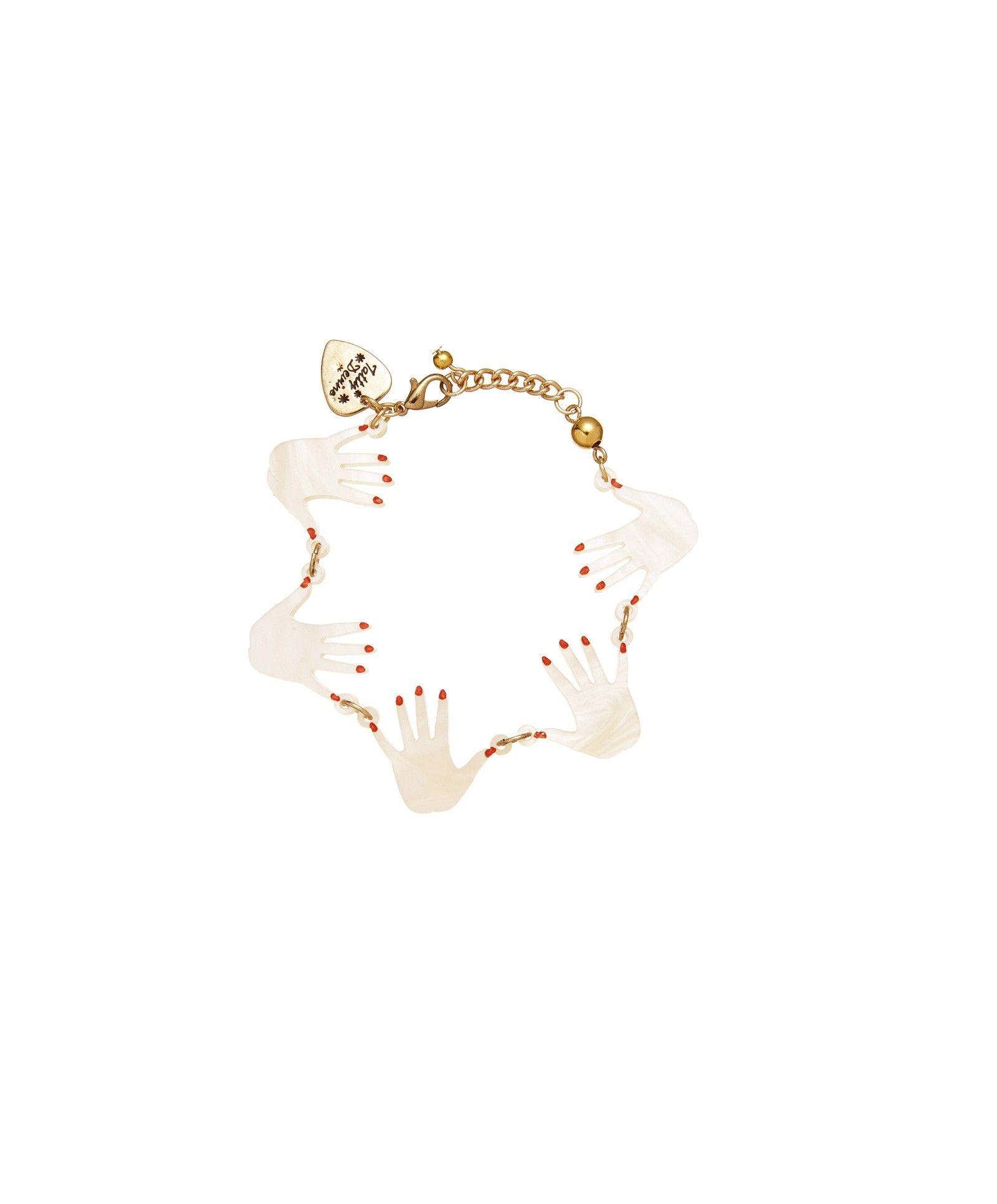 Seance hands bracelet jewelry pinterest hand bracelet