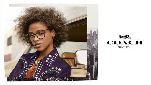 38d90fee099 Aya Jones Models Coach 1941 Fall Winter 2018.19 Eyewear Collection ...