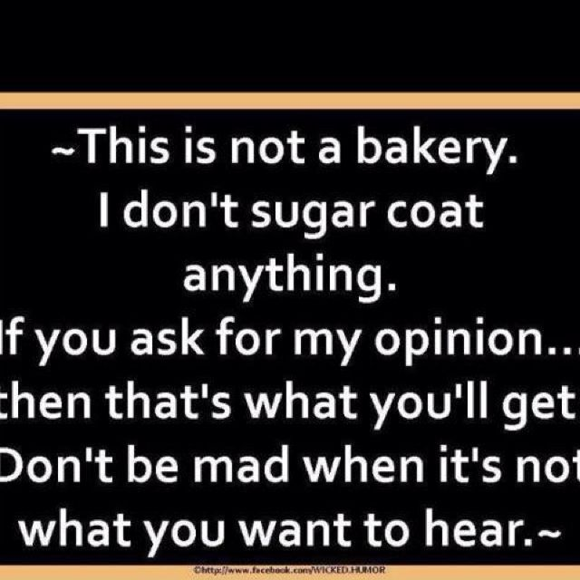 This is NOT a bakery!!