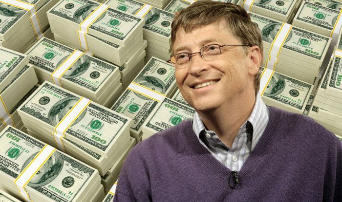How much money does bill gates make per second, minute and ...