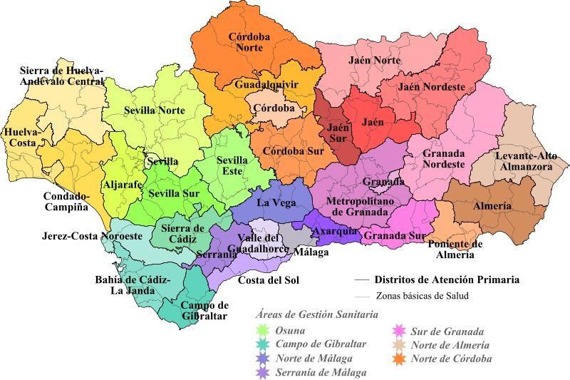 Mapa De Andalucia Lonely Planet